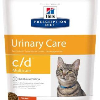 Сухой диетический корм Hill's Prescription Diet C/D Multicare Feline Chicken для кошек