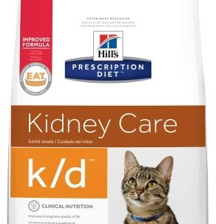 Корм для кошек Hill's 0.4 кг Prescription Diet K/D Feline Kidney Care with Ocean Fish dry