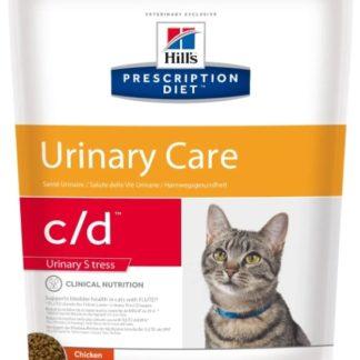 Корм для кошек Hill's Prescription Diet C/D Feline Urinary Stress Chicken dry 0.4 кг
