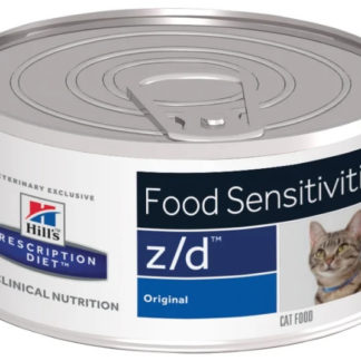 Корм для кошек Hill's Prescription Diet Z/D Feline Food Sensitivities canned 1 шт. 0.156 кг