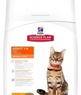Корм для кошек Hill's Science Plan Feline Adult Optimal Care Chicken 2 кг