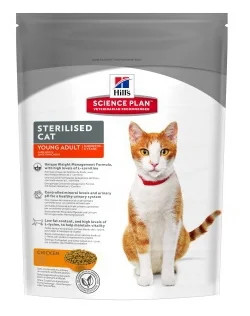 Корм для кошек Hill's Science Plan Feline Sterilised Cat Young Adult Chicken 0.3 кг