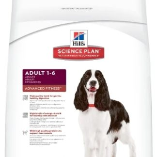 Корм для собак Hill's 3 кг Science Plan Canine Adult Advanced Fitness Lamb & Rice