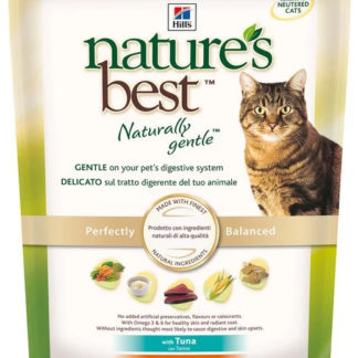Корм для кошек Hill's Nature's Best Feline Adult with Tuna dry 0.3 кг