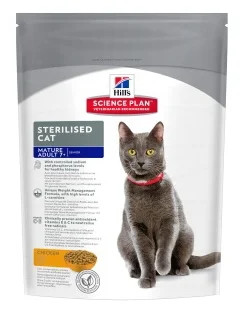 Корм для кошек Hill's Science Plan Feline Mature Adult 7+ Sterilised Chicken 0.3 кг