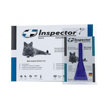 Inspector (Инспектор), капли на холку для кошек более 4 кг