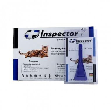 Inspector (Инспектор), капли на холку для кошек до 4 кг