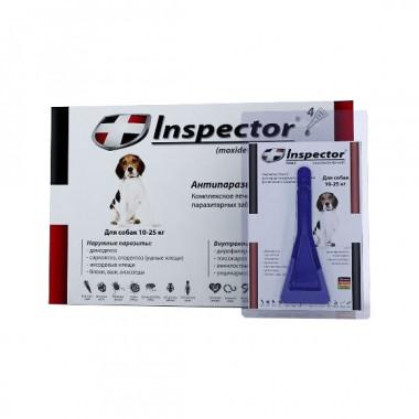 Inspector (Инспектор), капли на холку для собак 10-25 кг