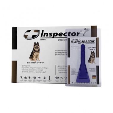Inspector (Инспектор), капли на холку для собак 25-40 кг