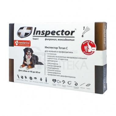 Inspector (Инспектор), капли на холку для собак 40-60 кг