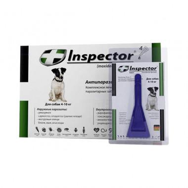 Inspector (Инспектор), капли на холку для собак 4-10 кг