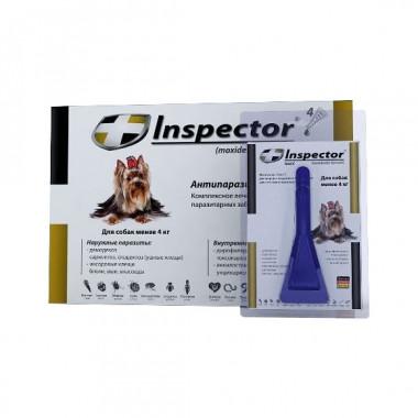 Inspector (Инспектор), капли на холку для собак менее 4 кг