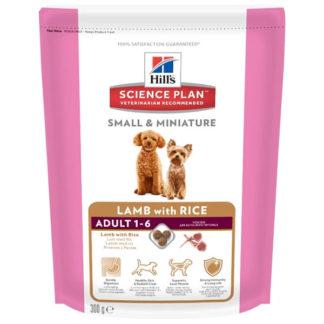 Корм для собак Hill's Science Plan для здоровья кожи и шерсти, ягненок 300г (для мелких пород)