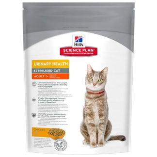 Корм для стерилизованных кошек Hill's Science Plan для профилактики МКБ, с курицей 300 г